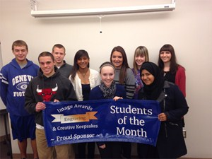 GHS November Students of the Month