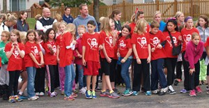 Heartland Students Run from the Heart for Charity