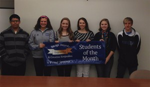 GHS October Students of the Month