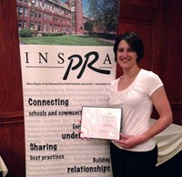 Communications Award at INSPRA Conference