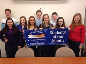 GHS December Students of the Month