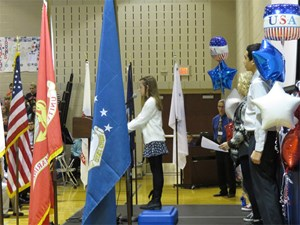 Geneva Students Honor Veterans image