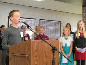 Geneva Students Speak of Leadership and Community Service image