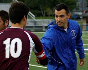 """GHS Coach Estabrook named """"Soccer Person of the Year"""""""
