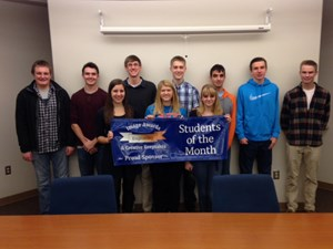 Geneva High School December Students of the Month image