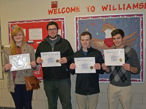 Students Receive All State Honors