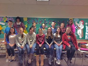 GHS Students Receive Awards for National French Week Student Videos