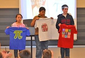 Fifth Graders Smash School Pi Day Record