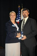 Geneva Admin Receives IASBO President's Award image