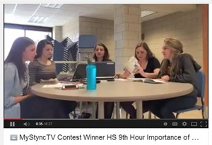 GHS Students Win First Place StudySync Video Contest