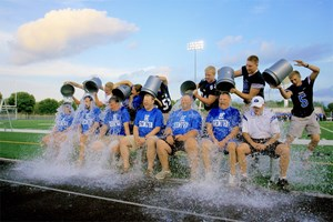 GHS Admins Raise $1,400 for ALS Research image