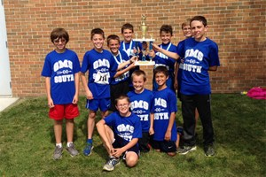 Two GMS South Teams Take First Place!