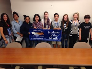 GHS September Students of the Month image