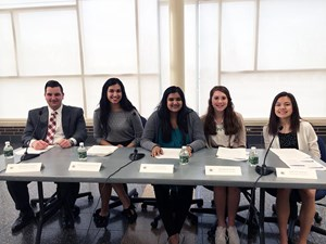 GHS Student Council Hosts Successful School Board Candidate Forum image
