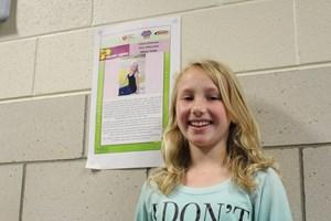 Ten-Year-Old Named Fabyan Elementary School's Heart Ambassador by the American Heart