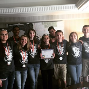 GHS Places 5th Nationally in Student Television Competition image