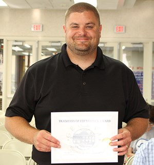 GHS Science Teacher Named Illinois Outstanding Earth Science Teacher! image