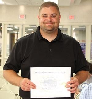 GHS Science Teacher Named Illinois Outstanding Earth Science Teacher!