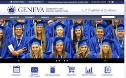 Geneva School District Unveils Redesigned Website image