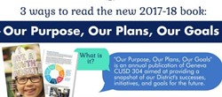 "3 ways to read our new book ""Our Purpose, Our Plans, Our Goals"""