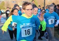 Fabyan Elementary School students participate in the school's first Hot Chocolate Run