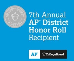 7th Annual AP Honor Roll Logo