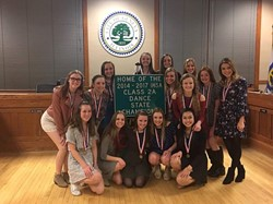 City Recognizes Geneva Dance Team on State Win