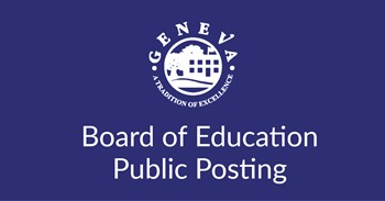 Board of Education Public Posting