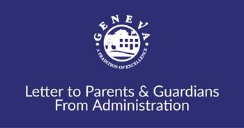 Letter to Parents & Guardians