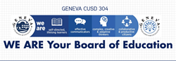 Geneva CUSD 304 Ingographic Series: We Are Your Board of Educatoin