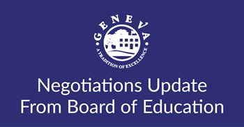 Important Update Regarding Negotiations