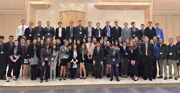 GHS Students at DECA State Competition