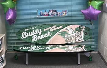 Reading Room Buddy Bench Thumbnail