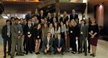 DECA Students State Competition Group Photo