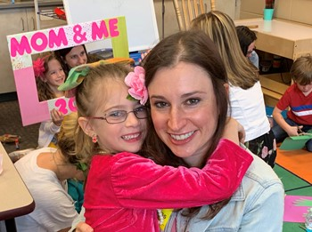 Mom and Me Event at WES
