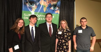 GHS Students at Capitol Forum