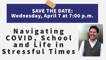 Save the Date: April 7 Parent Presentation