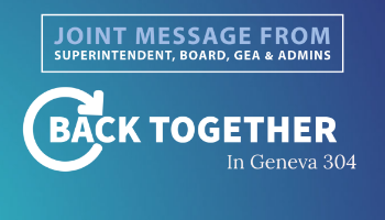 Back Together Joint Message