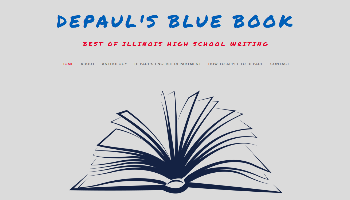 DePaul's Blue Book Digital Anthology Cover Image
