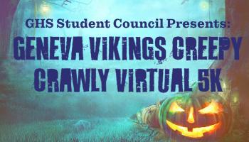 Geneva VIkings Creepy Crawly Virtual 5K