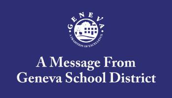 Geneva School District Message Icon