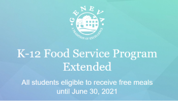 Food Service Program Update 2021