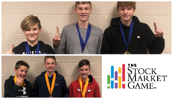 Geneva Middle School North Fall Stock Market Game Winners