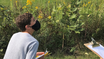 GMSN Students Explore Prairie