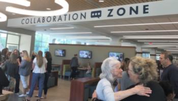 Collaboration Zone Geneva Library