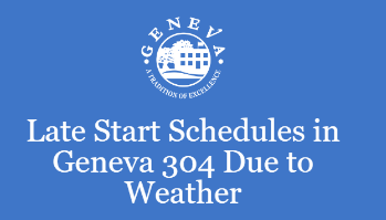 Late Start in Geneva 304 Due to Weather