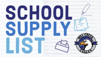 MCS School Supply List