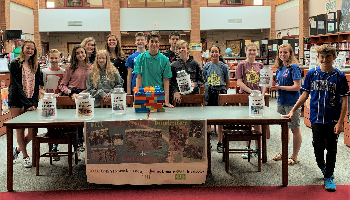 North students fundraising for Children's Relief International
