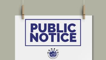 Public Notice Icon