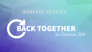 Back Together 304 Webpage Updates
